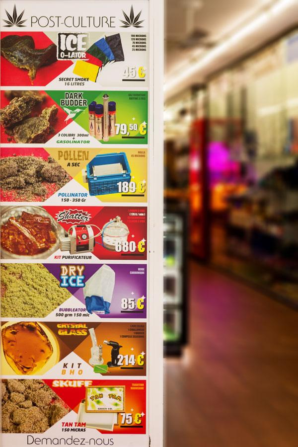 nova store 14 - façade du growshop
