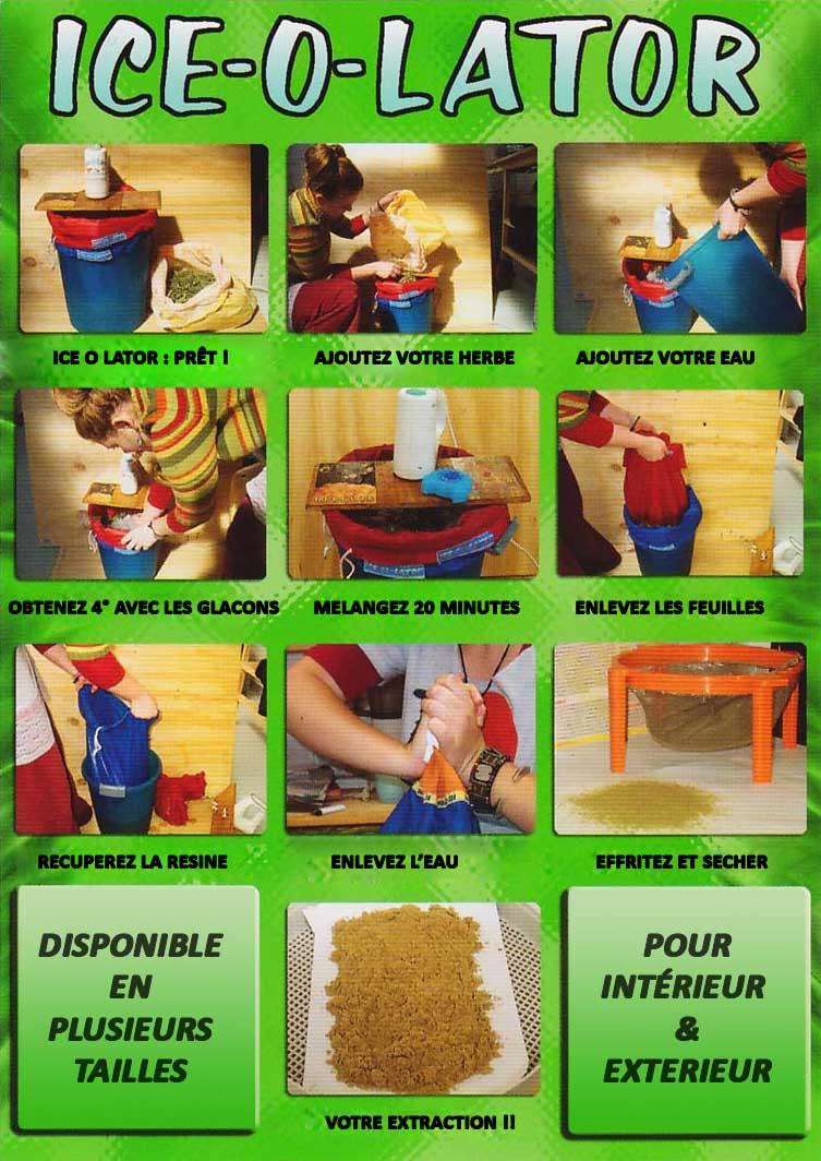 Comment utiliser le ice o lator