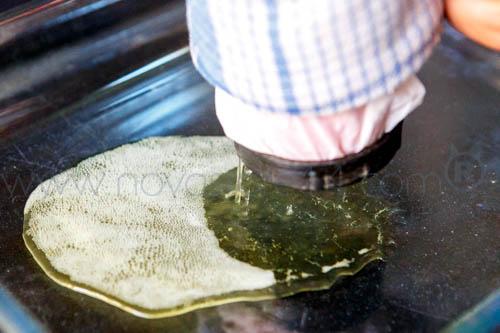 bho dans un plat en pyrex