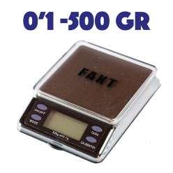 BALANCE FAKT MODEL U 500 - 0,1GR