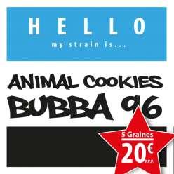 ANIMAL COOKIES X PRE BUBBA 96