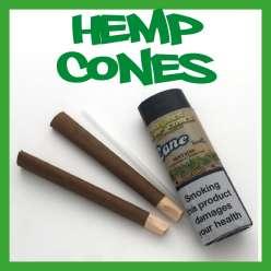 CYCLONES HEMP CONES X 2